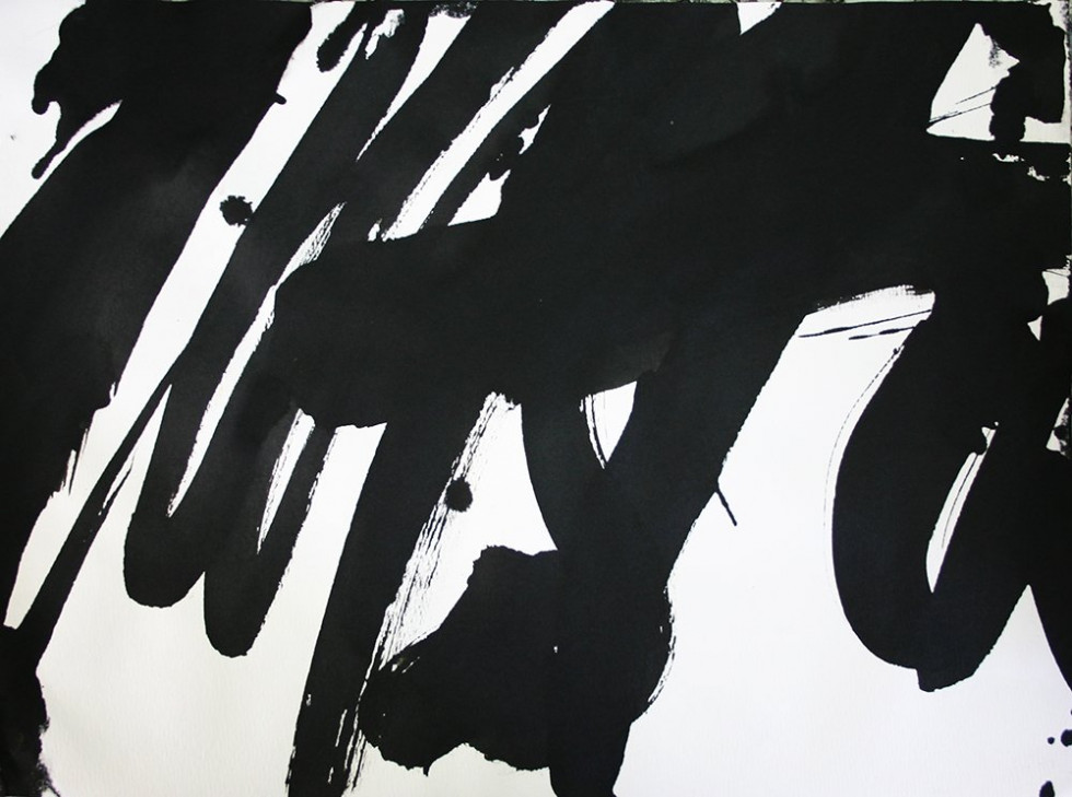 CALLIGRAPHIC DRAWING 17