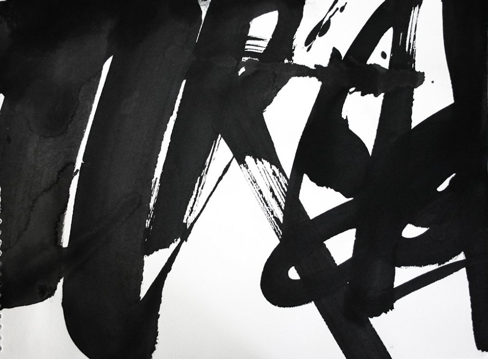 CALLIGRAPHIC DRAWING 24