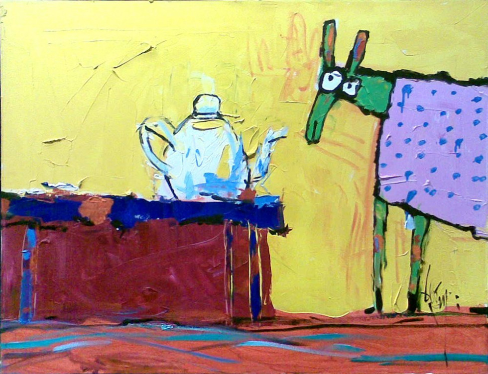 HORSE AND TEAPOT