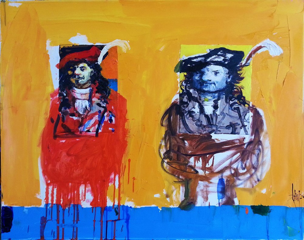 TWO REMBRANDTS